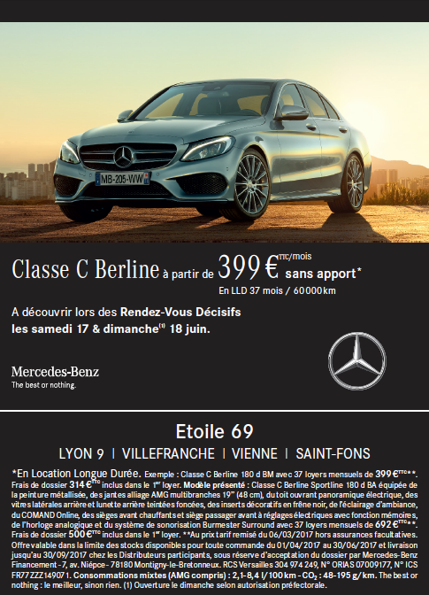Mercedes Benz Etoile  Villefranche