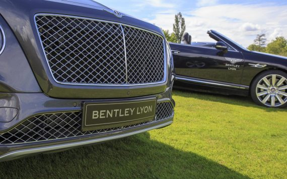 Bentley expose au Golf Lyon Salvagny