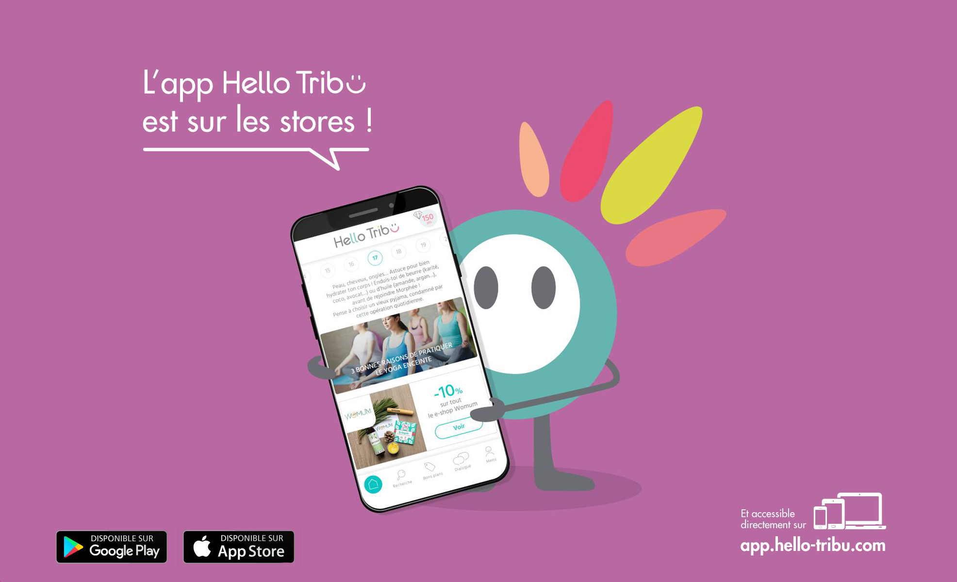 Futurs parents ? Découvrez l'application Hello Tribu