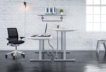 Up & Desk rend le home-office plus agréable.